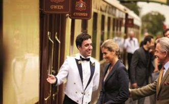 British Pullman Guests Arriving